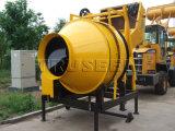Tipo miscelatore della benna di cemento concreto di Desiel del tester cubico della macchina una del miscelatore del blocco