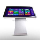 гарантированность 1year пол 55 дюймов стоя экран касания LCD