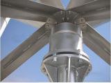 잡종 관제사 태양 전지판 바람 발전기 Vwat 3kw 수직 바람 터빈