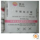 Cera de parafina inteiramente refinada 58-60 DEG C