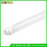 Lumière de tube du facteur de puissance >0.9 1.2m T8 DEL