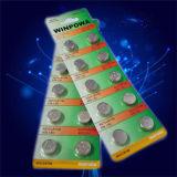 Батарея клетки кнопки Lr1154 Mercury свободно