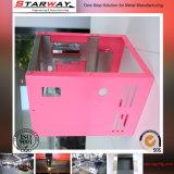 Puder-Beschichtung-Blech-Gehäuse, Berufsmetallkasten-Fabrik