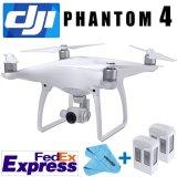 Manojo del kit de Quadcopter del fantasma 4 de Dji con el cardán de la cámara 4k, 3