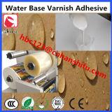 Adhésif de vernis de base de l'eau
