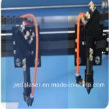 ファブリックのためのDouble Head CO2 Laser工場ディレクター打抜き機