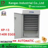 Incubateur automatique d'oeufs de poulet d'utilisation commerciale de ferme pour 1500 oeufs (CE approved/SGS)