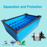 Antistatische Plastic Handvatten Golf Antistatische Golf Plastic Toolboxes van Dozen voor de Bak van de Delen van de Elektronika
