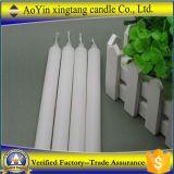 Fábrica blanca de la vela de la parafina votiva 1.8*19