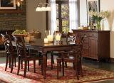 Деревянный обедая комплект, большие штоки мебели