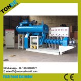 Ce Screw Wet Floating Fish Feed Pellet Making Extruder