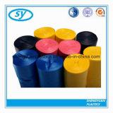 Sacs d'ordures en plastique respectueux de l'environnement de LDPE/HDPE