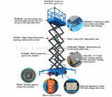 Levage électrique de ciseaux de levage hydraulique mobile de ciseaux