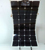 Factory Directly Salts Monocrystalline Cell Price Semi Flexible Solar Panel 100W