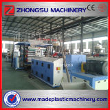 Feuille de marbre de marbre de la machine d'extrusion de feuille de PVC/PVC faisant à machine/PVC la chaîne de production de marbre de feuille