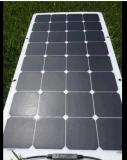 100W Semi flexíveis Waterproof o painel solar de Sunpower para o sistema de energia solar