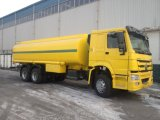 Unidades de HOWO 2 no caminhão de tanque conservado em estoque do petróleo 25m3