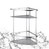 Шкаф хромовой стали изделий 2 ярусов санитарный для мебели ванной комнаты (SUS304)