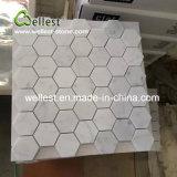 Плитка стены мозаики Cararra белая Haxegon
