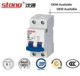Автомат защити цепи Stong Stcb2 2p миниый (структура C65)