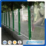 Загородка ячеистой сети ковки чугуна PVC высокого количества Coated орнаментальная