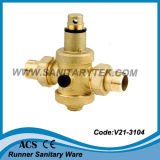 Vanne de réduction de pression en laiton (V21-3101N)