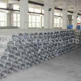 tamiz del tubo de los Ss de la ranura de 0.5m m/filtro del tubo