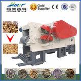 Bois de panneau de fibres agglomérées de structure compacte découpant le matériel en tranches