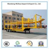 Aanhangwagen van de Vrachtwagen van de Auto-carrier van de vervaardiging de Op zwaar werk berekende