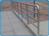 Трубы сваренные нержавеющей сталью для загородки моста
