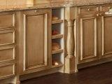 2017 Mobiliário de cozinha de carvalho novo design de cozinha Mobília de cozinha de carvalho # 206