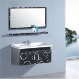 Neuer Edelstahl-Wand-Badezimmer-Schrank mit Regal