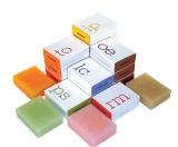 rectángulo de encargo del jabón de la alta calidad de la fabricación profesional