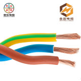 Tampa de PVC do fio elétrico do fio do cabo do algodão do cabo do fio elétrico/matéria têxtil/cabo da tela