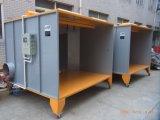 Cabina di spruzzo del rivestimento della polvere per la verniciatura delle rotelle