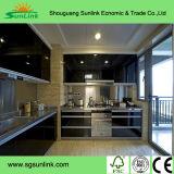 Fabricante da porta de gabinete da cozinha do PVC em China (o melhor tamanho: 1.22m*2.44m)