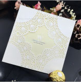Tipo invitación de Europa de la impresión de la fábrica de la boda del diseño