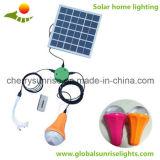Luz solar de la emergencia LED mini Home Sistema de energía solar con USB