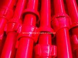 중국 공장에서 Cuplock 빨간 그려진 비계