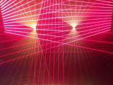 9 olhos RGB/único laser principal movente verde do disco