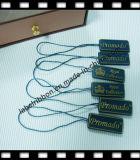 OEMの衣服のプラスチックシールの札(ST039)