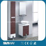 Heiße Verkaufs-Melamin-Badezimmer-Eitelkeit mit seitlichem Schrank (SW-ML1201)