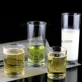 Taza clara del té/taza de cristal del jugo de cristal/venta al por mayor de cristal de la taza de cerveza