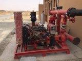 30HPディーゼル機関によって運転される8inch自己の起爆剤の水ポンプ