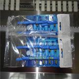 PLC steuern automatische Wegwerfrasierschaufel-horizontale Verpackungs-Maschine