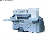 Máquina de corte de papel hidráulico duplo de exibição digital (SQZX92D)