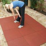 Плитки резины спортивной площадки спортов резиновый цветастые