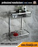 Acessório luxuoso do banheiro da cesta do aço inoxidável da alta qualidade