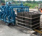 Machine de fabrication de brique complètement automatique du bloc Qt4-15