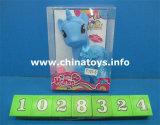 子供のおもちゃの馬の赤ん坊の馬、プラシ天は及びセットされた馬を詰めた(1028325)